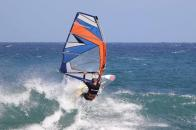 Windsurf w Jameos del Agua Spoty do windsurfingu na Lanzarote